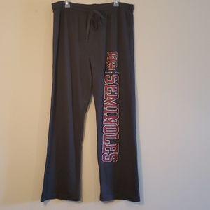 Florida State Seminoles sweat/sleep pants